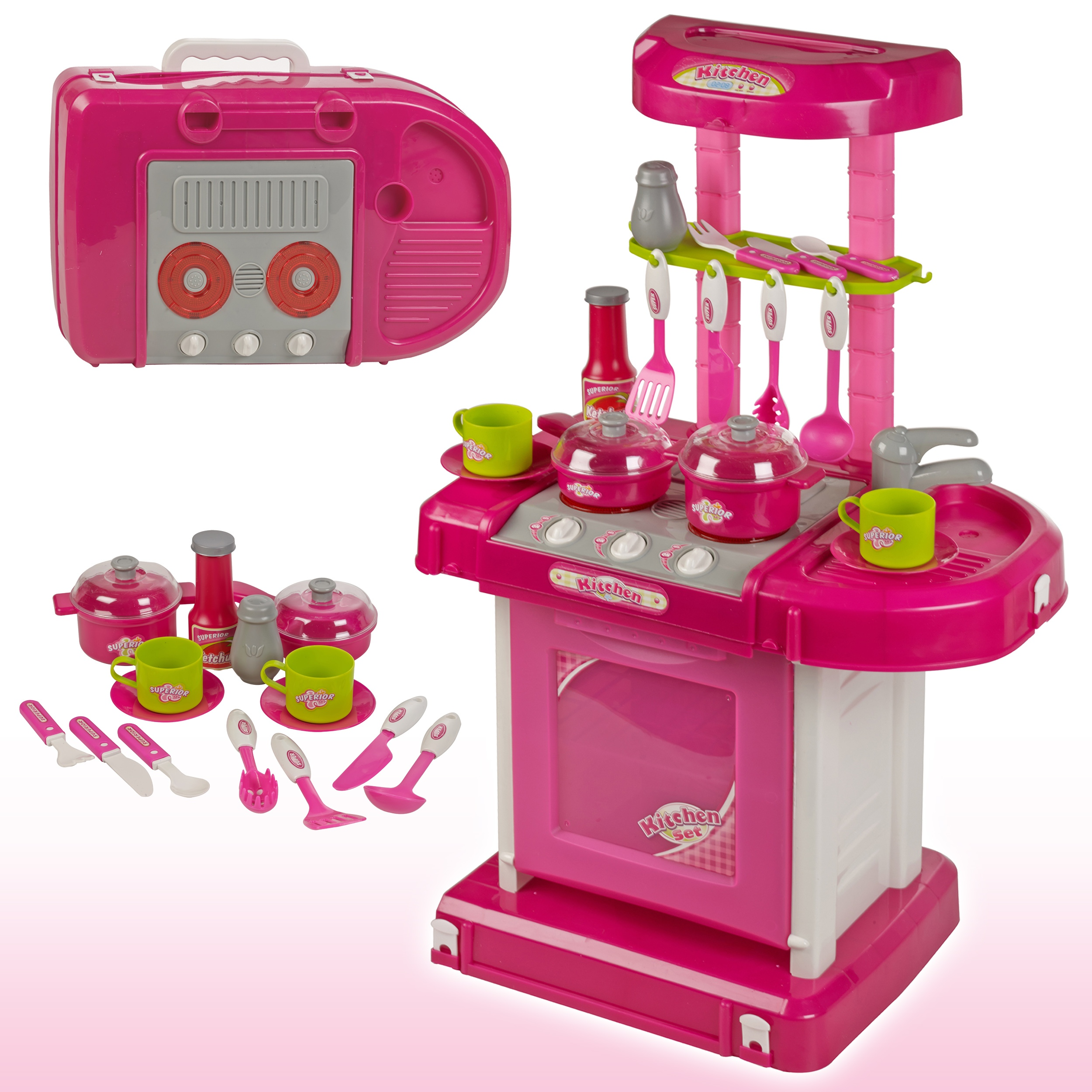 kitchen set for girl liberty cabinet hardware girls portable electronic cooking children 39s play