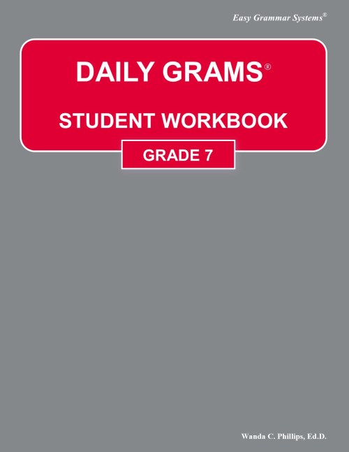 small resolution of Daily Grams - Grade 7 - Easy Grammar Systems