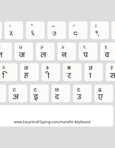 Delys font keybord in  light mode ideal for printing also free marathi keyboard to download rh easyhindityping