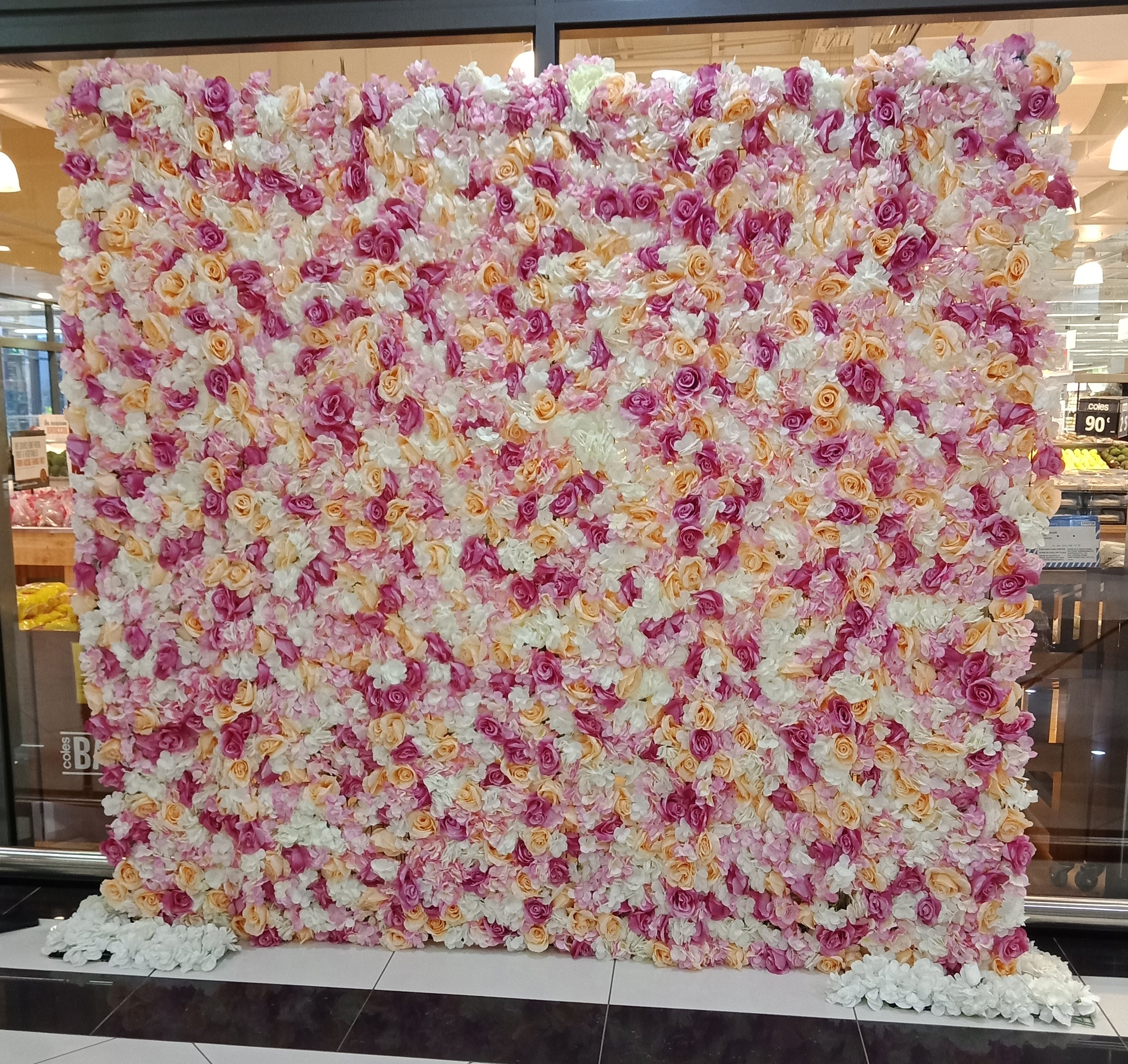 Flower Wall Hire Melbourne From 150 Melbournes Cheapest