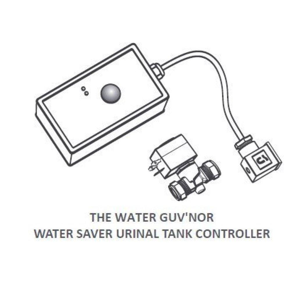 Guv Nor Pir Sensor Valve Urinal Water Saver Management