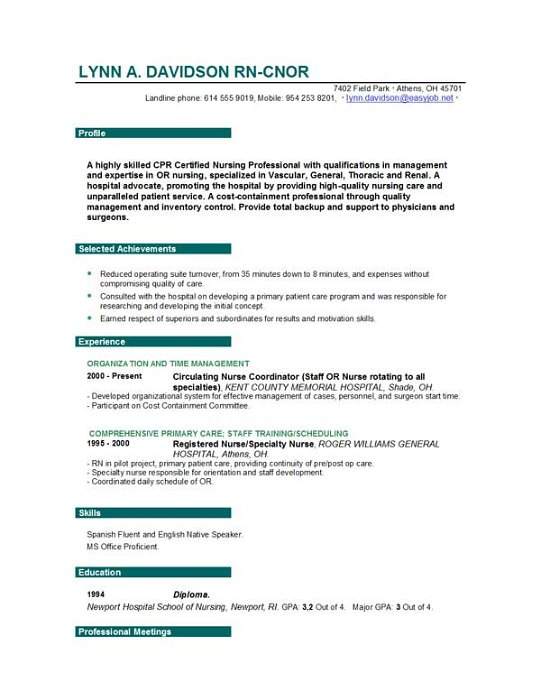Resume Templates For Educators Teacher Resume Template For Ms