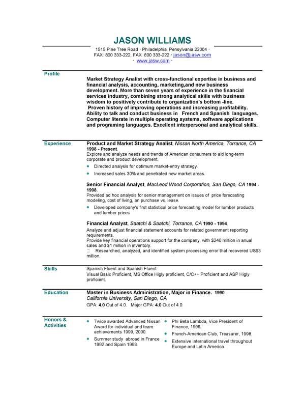 Sample Resume | 85 FREE Sample Resumes by EasyJob | Sample Resume ...