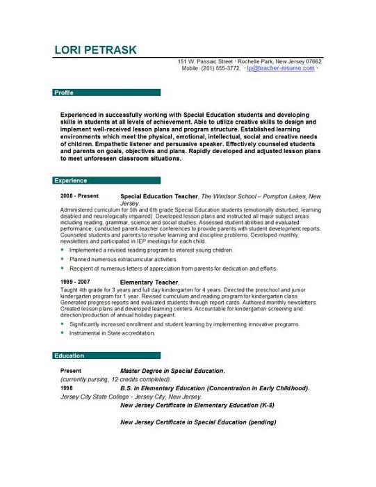 Teacher Resume Free Sample Example Format Free Premium Aploon Teacher CV  Template Lessons Pupils Teaching Job  Skills For Teacher Resume