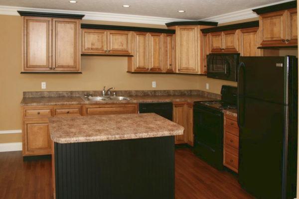 Amber Glaze Kitchen