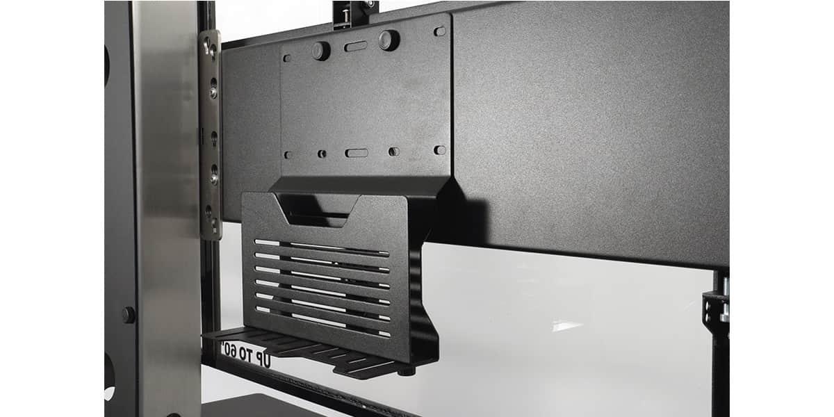 Axeos Ekinox Double Ecran Supports TV Sur Pied Sur