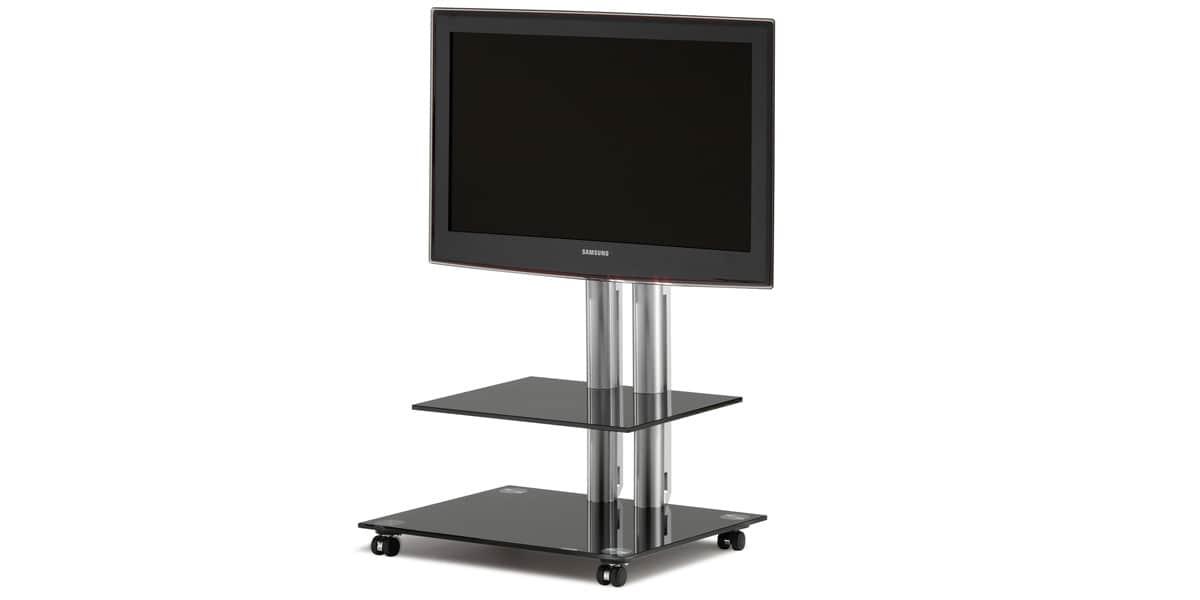 Spectral Panel 60 Noir Supports TV Sur Pied Sur EasyLounge