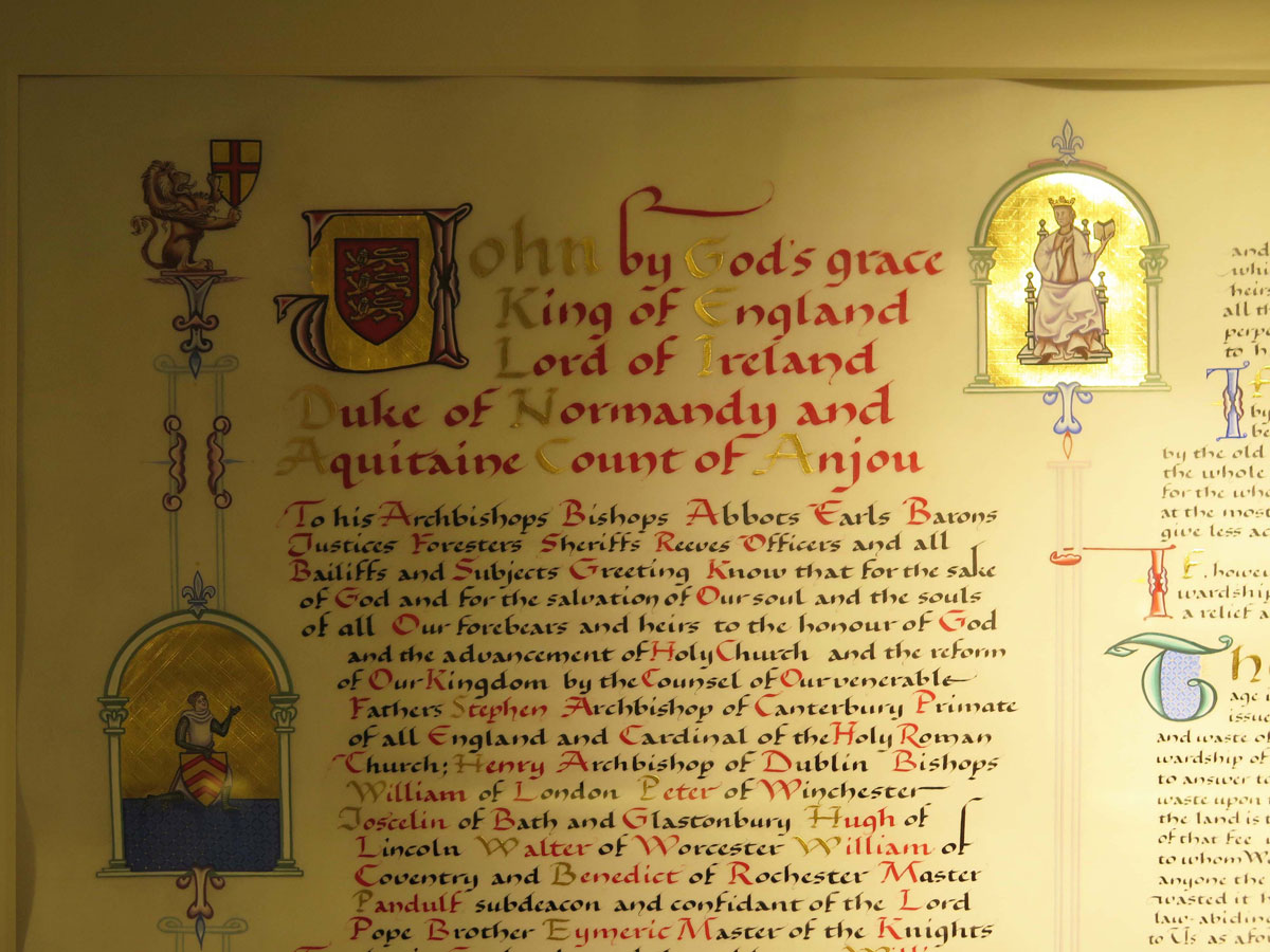 Modern Translation of the Magna Carta