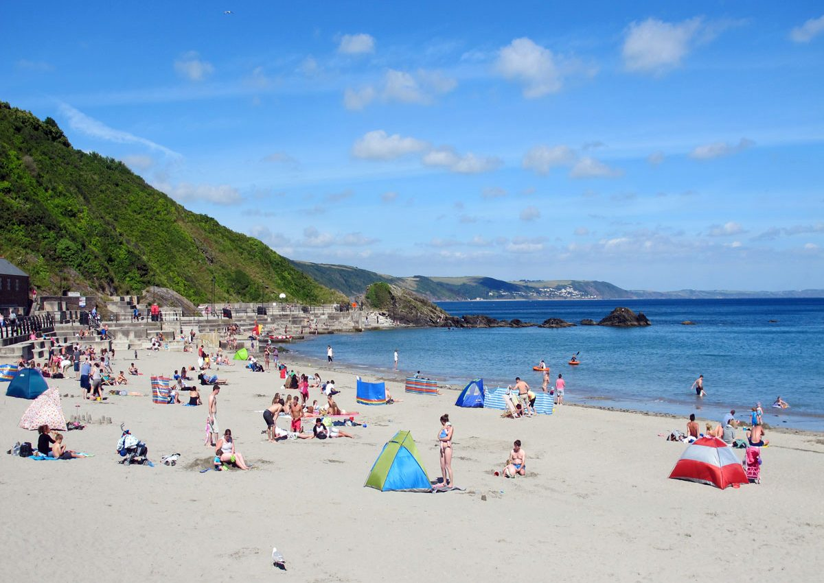 The Beach at Looe