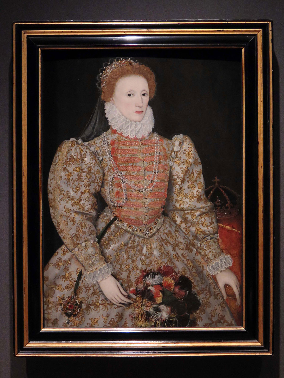 Elizabeth I by unknown continental artist (c1575)