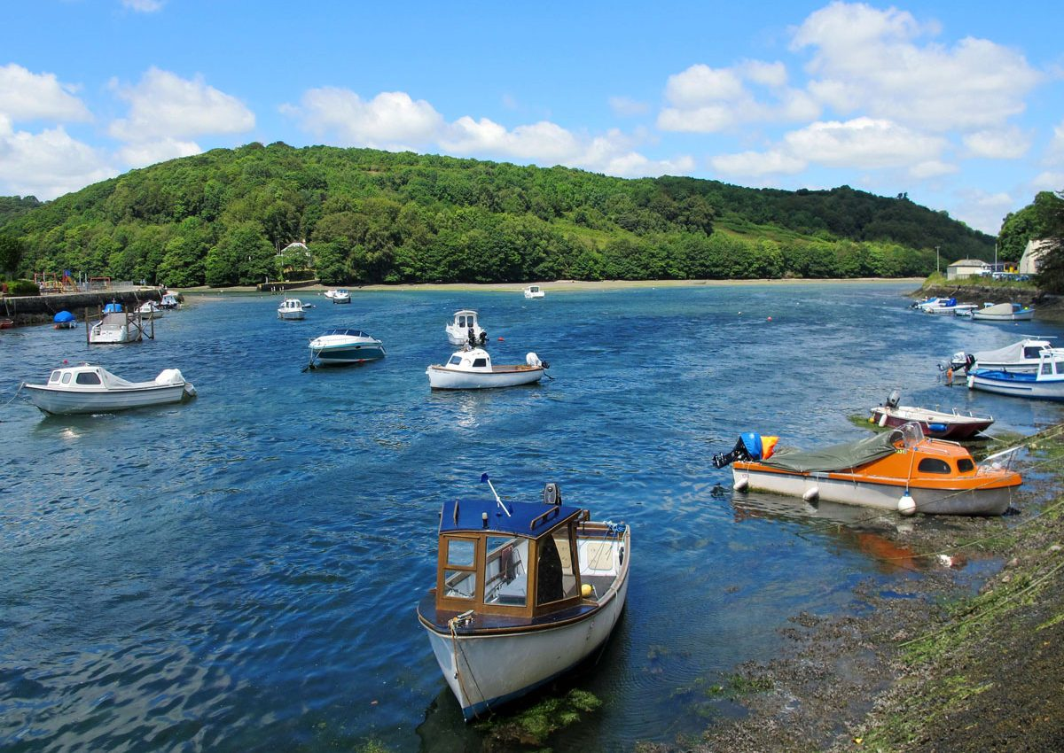 Where the East and West Looe Rivers meet