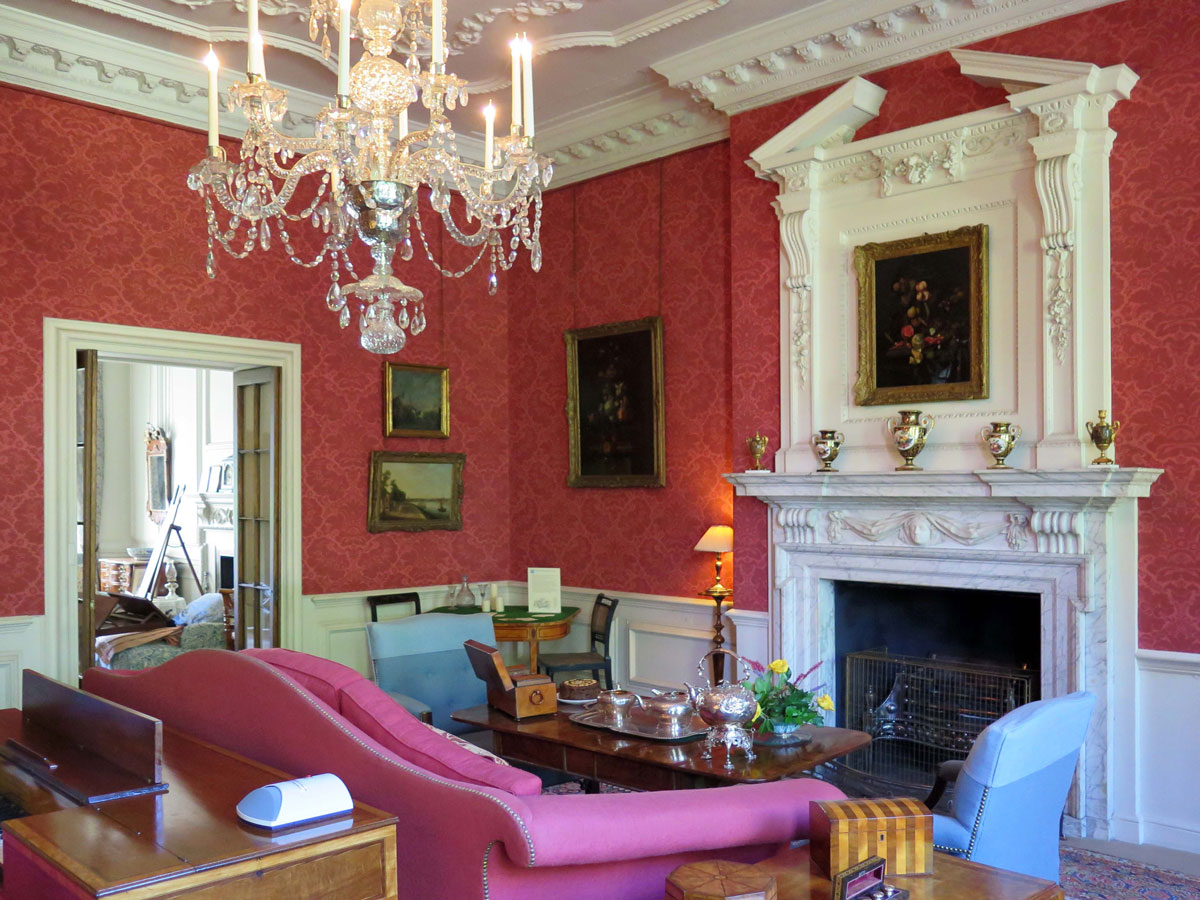 The Large Drawing Room in Mompesson House