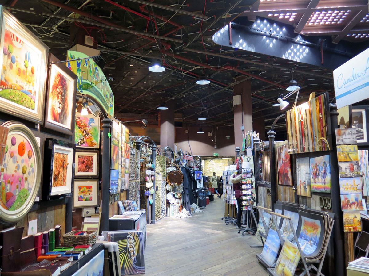 Inside the Stables Market