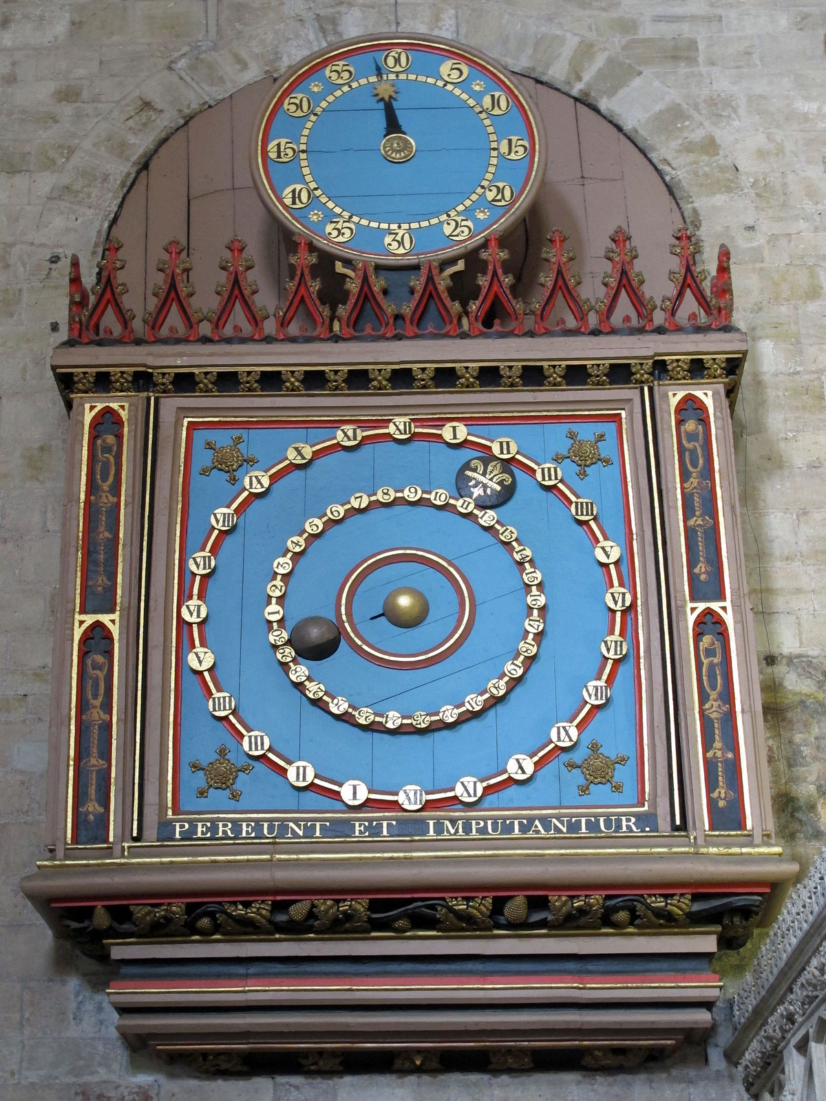 The 15th century Astronomical Clock