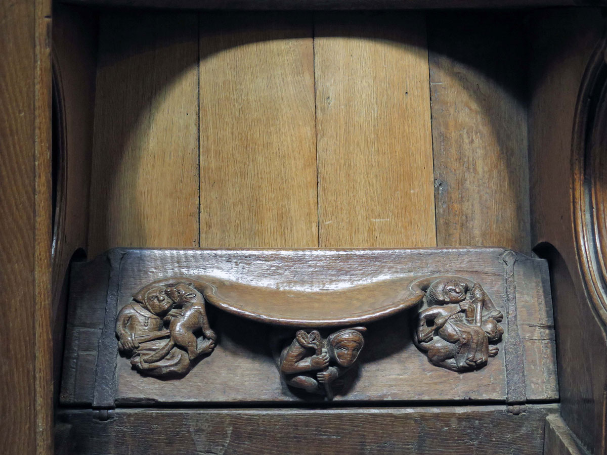 Detail from a Misericord in the Choir