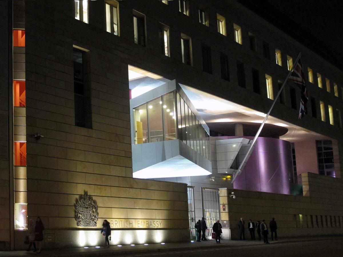 The British Embassy