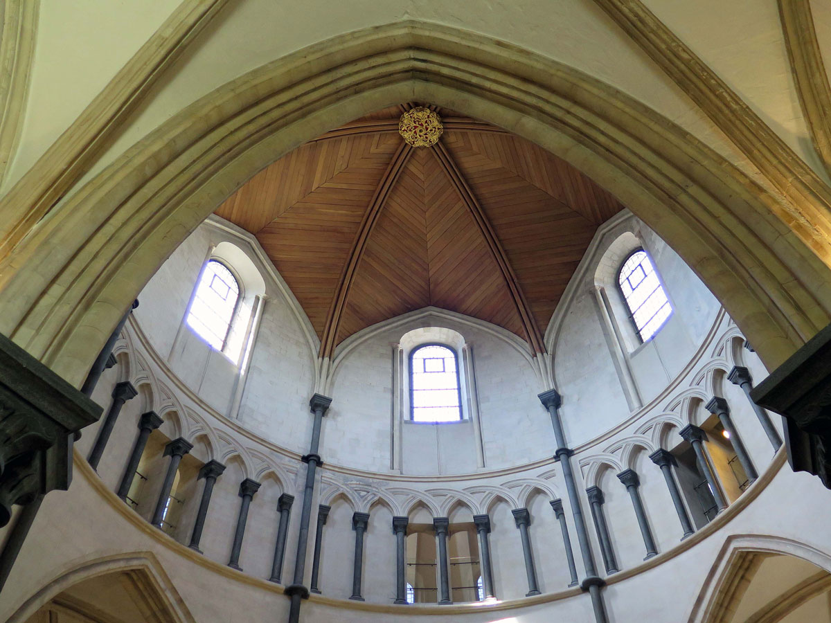 Inside the Round Church