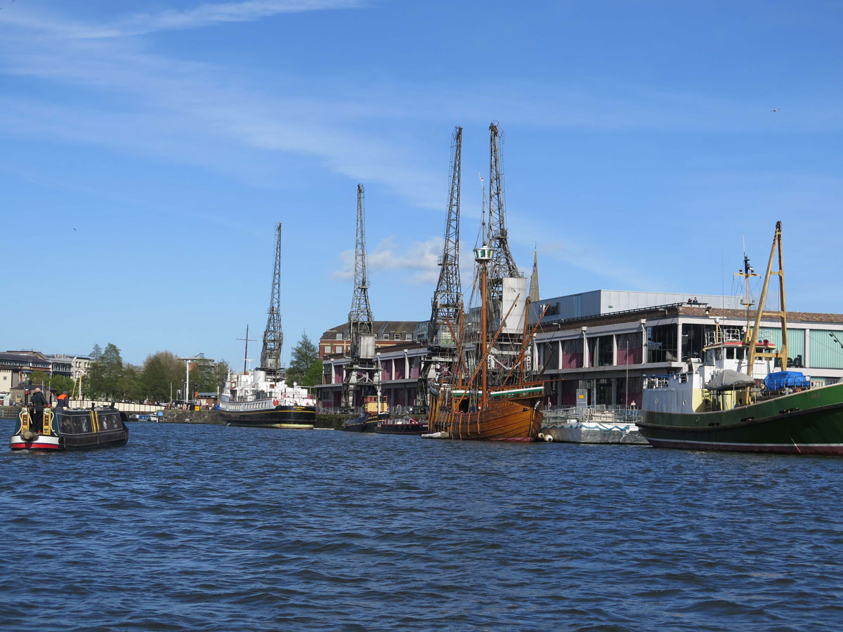 The Floating Harbour at Wapping Wharf