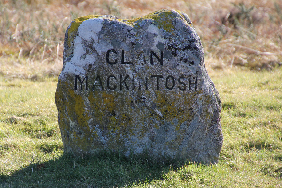 The Mackintosh Clan's Grave