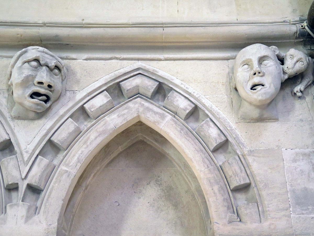 Gargoyles in the Round Church