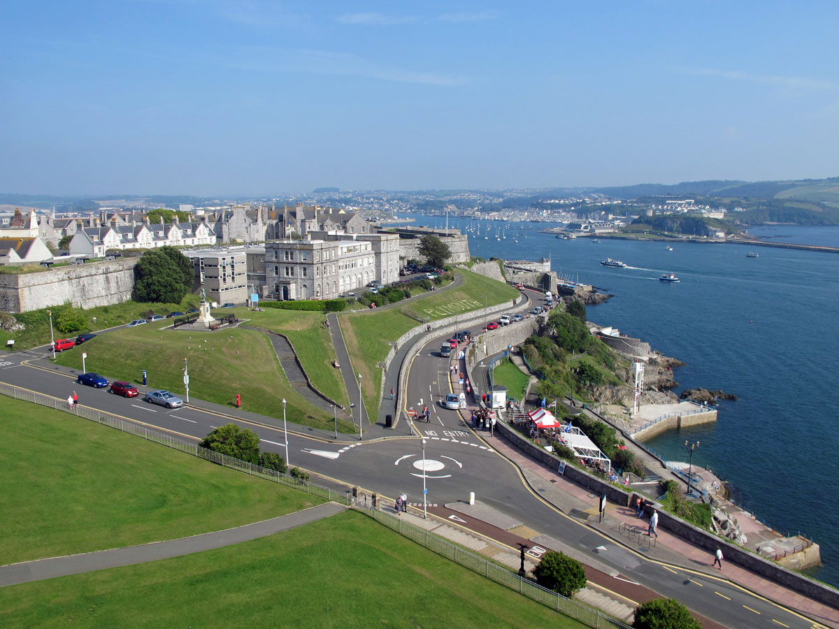 014-Looking-towards-The-Citadel-from-the-top-of-Smeaton's-Tower-(1)