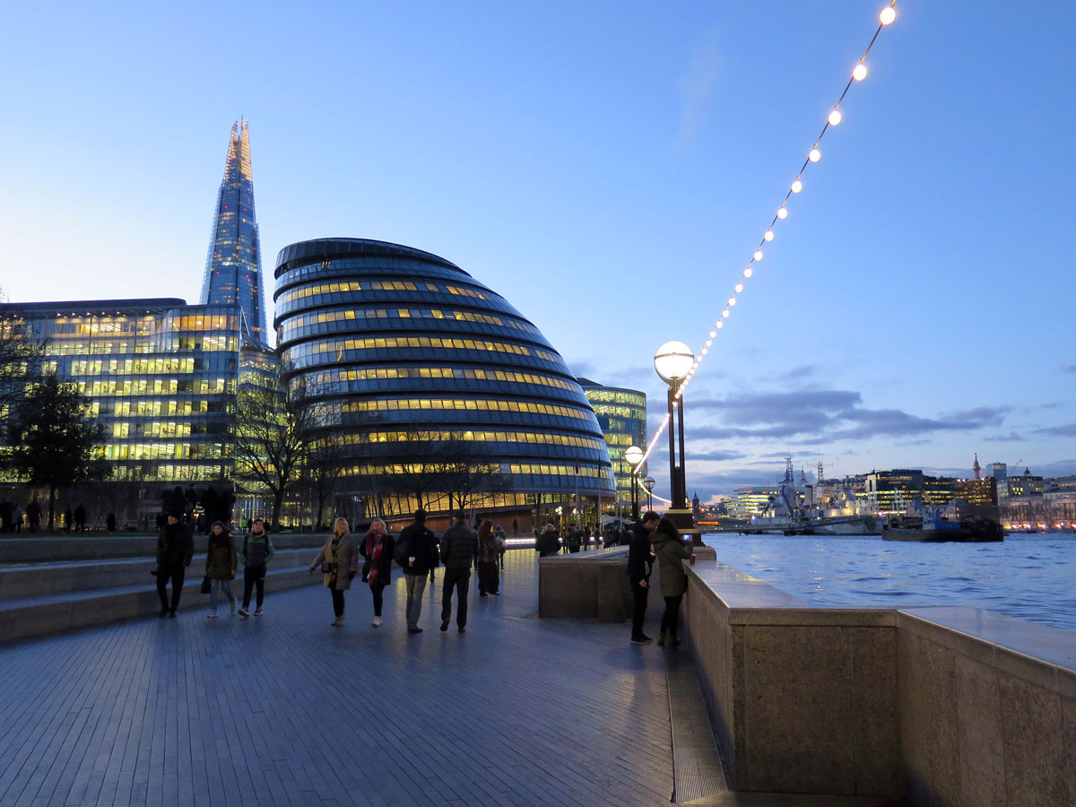 The Futuristic-Looking City Hall