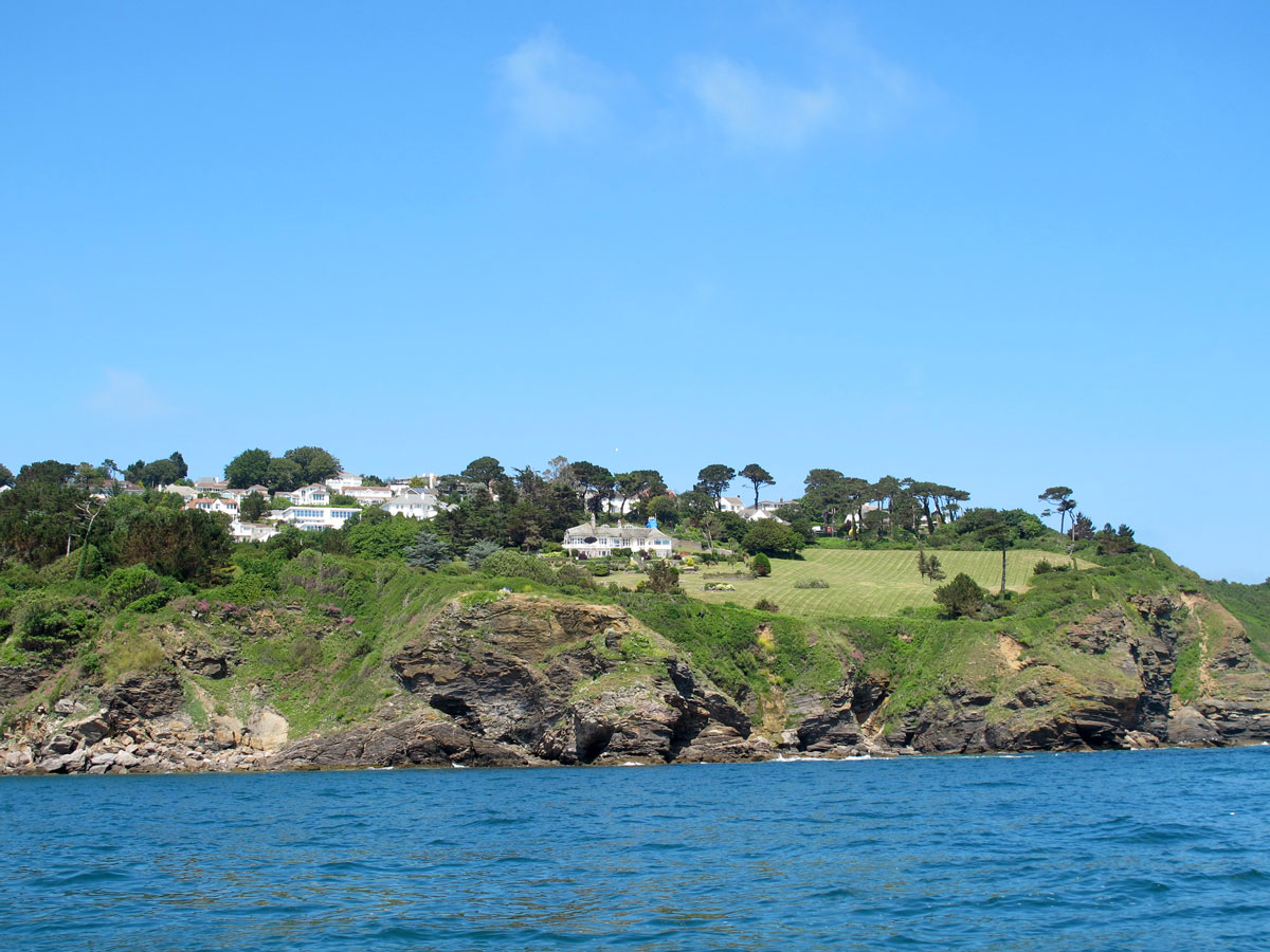 Thatcher Point from the sea