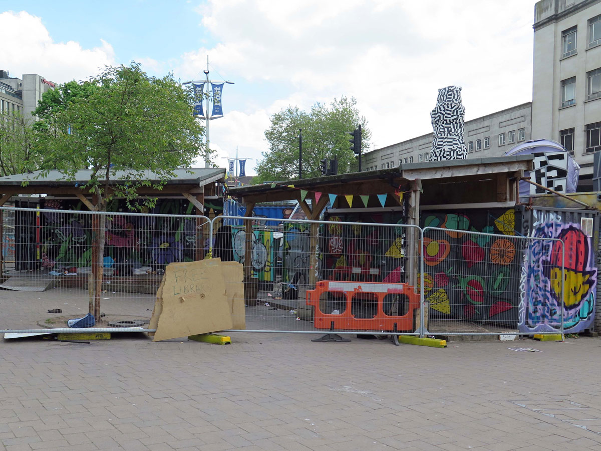 The Bearpit Social Cafe as it looks now