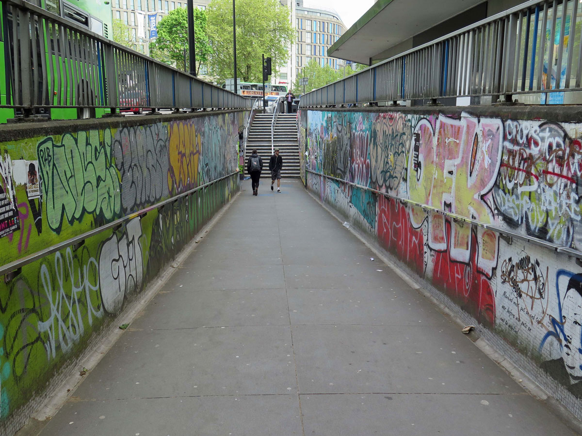 Heading down to The Bearpit