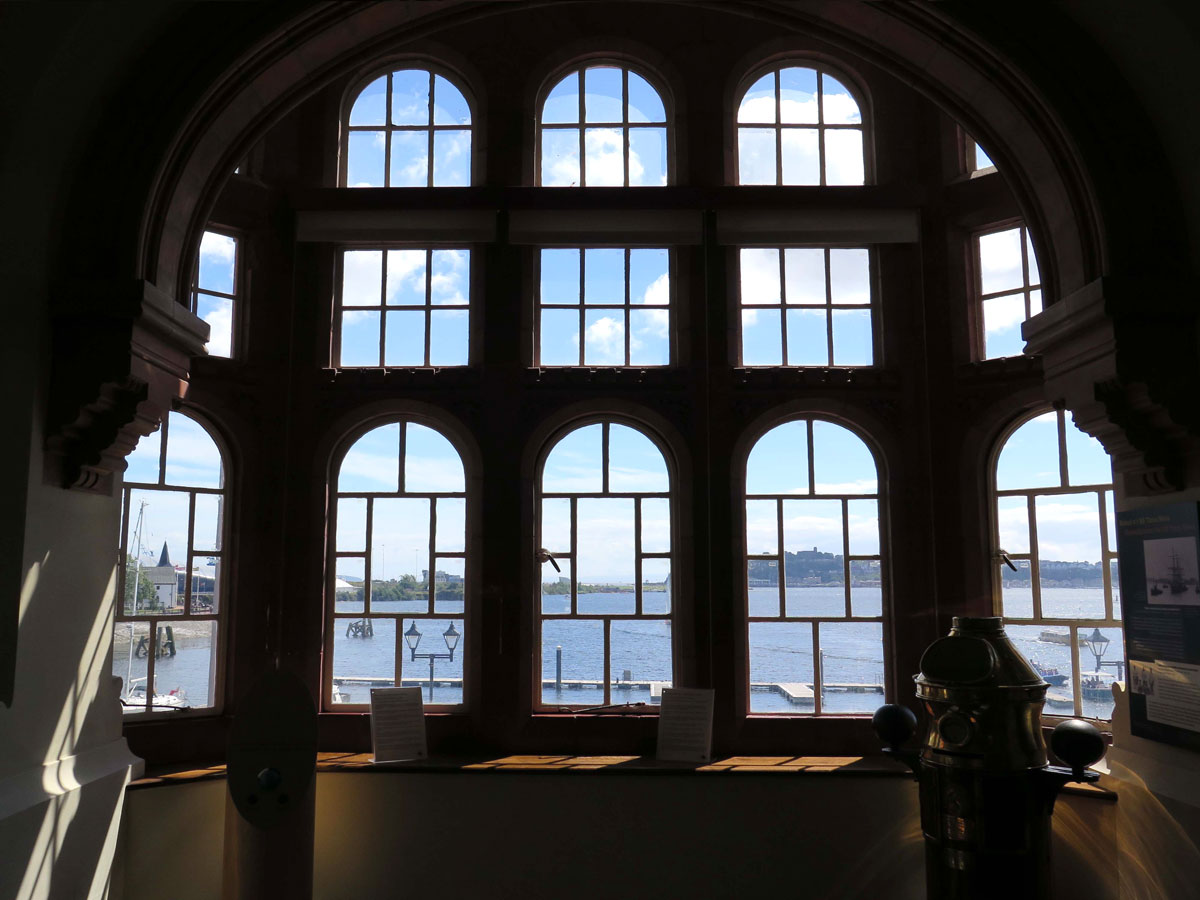 View from the Dock Manager's Office