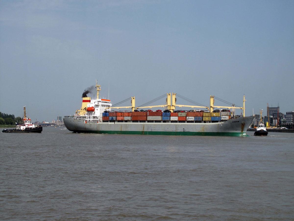 The River Cruise - Smaller ships still come upriver