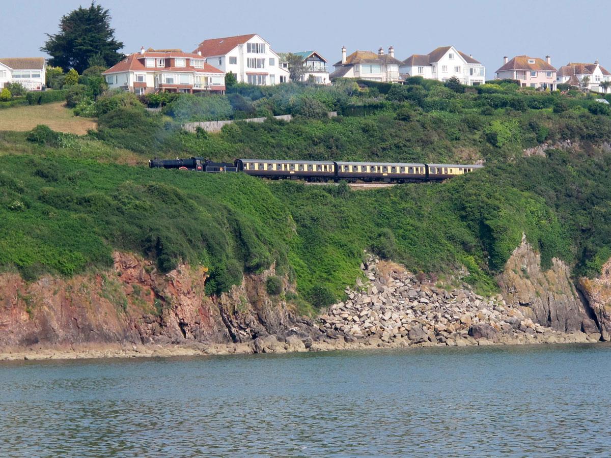 The Train near Broadsands