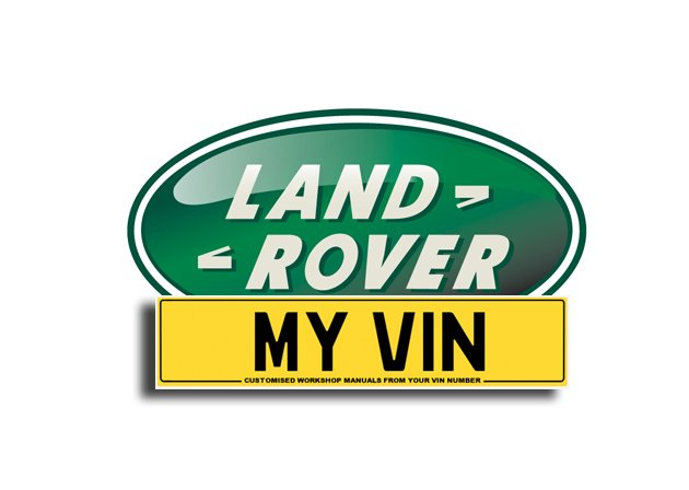 Land Rover Range Rover Sport L320 Official OEM PDF Workshop Manual Created  From your VIN Number