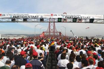 La Meia maratona de Lisboa. L'evento internazionale che richiama oltre 36.000 partecipanti
