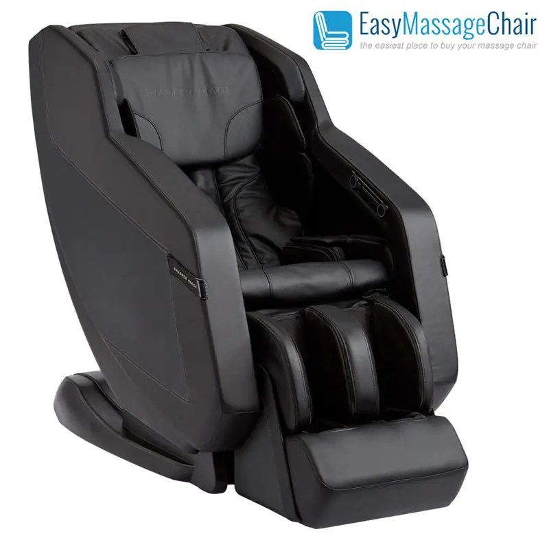 sharper image relieve 3d sl track massage chair with zero gravity foot roller smart body scanning