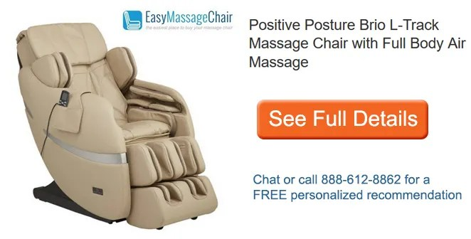 positive posture massage chair high for elderly manufacturer buy a brio get sol free see full details of l track