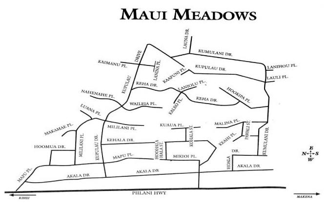 Maui Meadows Houses For Sale Kihei
