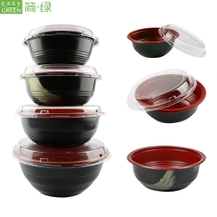microwave soup noodle bowl with lid for lunch container