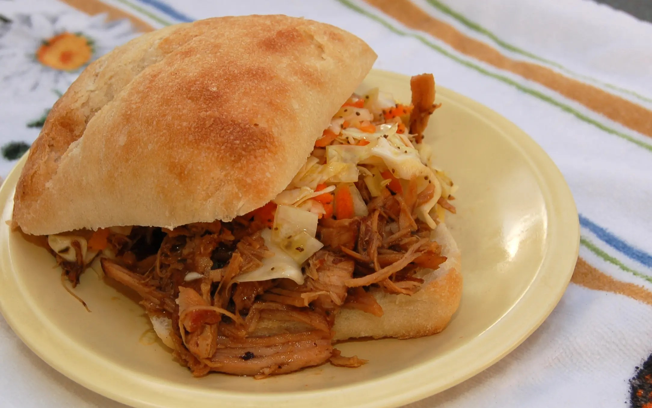 Pulled Pork Sandwiches made in the Crock Pot!