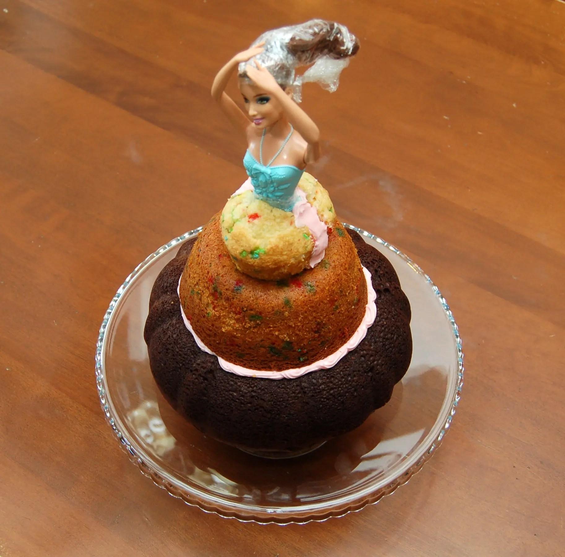 Bundt Pan Doll Cake