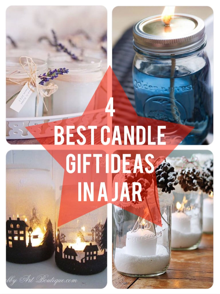4 Best Candle Gift Ideas in a jar 768x1024 Best Christmas Gift Ideas