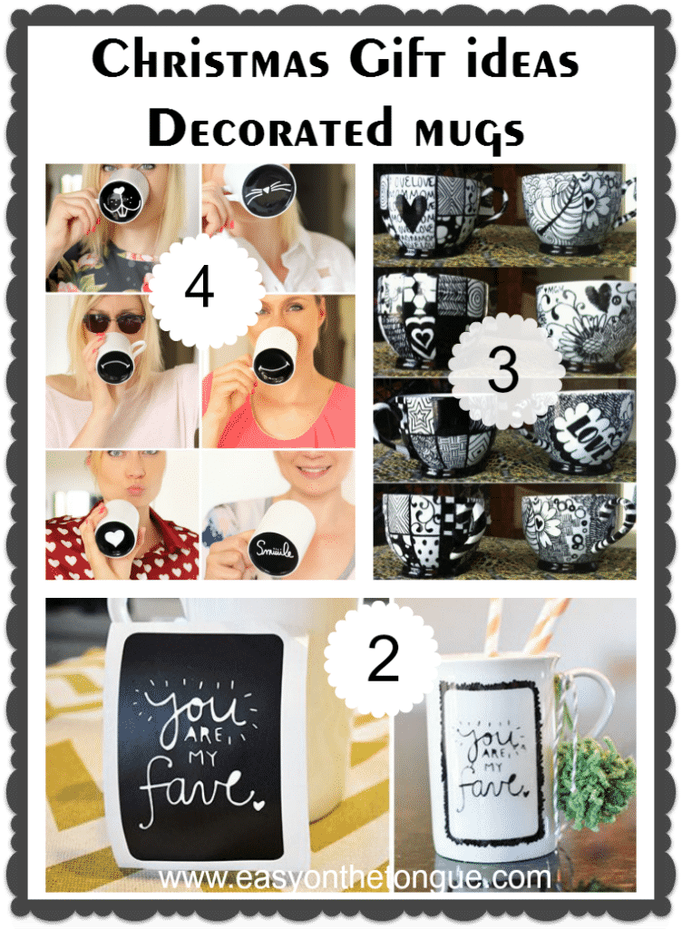 Christmas Gift Ideas 3 752x1024 Christmas Gift Ideas   Decorated Mugs (Part 2)