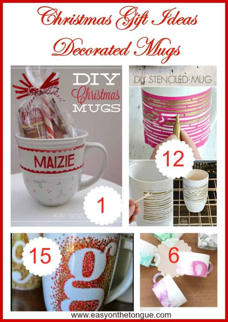 Christmas Gift Ideas 4 725x1024 Christmas Gift Ideas   Decorated Mugs (Part 2)