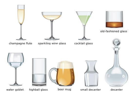 Old Fashioned Cocktail Glasses