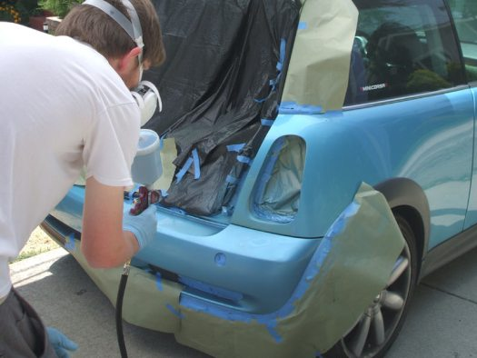 Easy How To Paint A Car Pro Your Self Home Spray Hvlp Instruction Automotive Repair Refinish Neil Slade