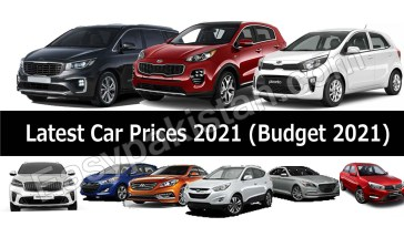 Impact of Budget 2021 on Car Prices in Pakistan