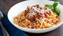 Spaghetti Bolognese is a dish loved the world over. This Classic Spaghetti Bolognese is cooked long and low to leave you with a rich, deep ragu that is loaded with flavor. A classic family favorite. From Easy Pasta Sauces
