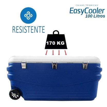 CAIXA TÉRMICA EASYCOOLER 100L COM RODA-1003