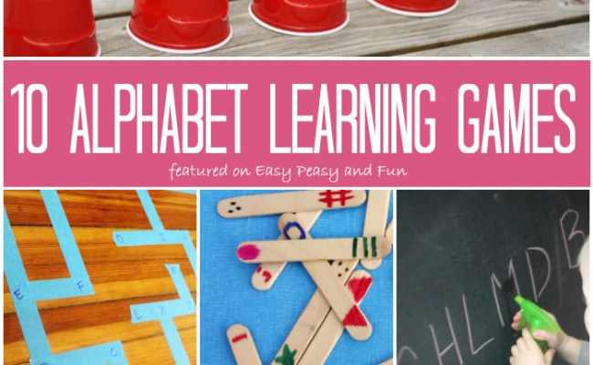 10 Alphabet Learning Games For Kids Easy Peasy And Fun