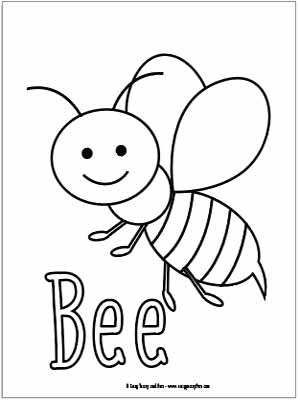 bug coloring page # 7